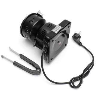 Elektrischer Shisha Kohleanzünder mit Griff 550W Schwarz klein